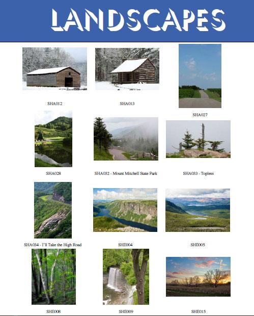 At  Landscapes 34 15