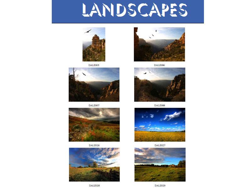 At  Landscapes 8 15