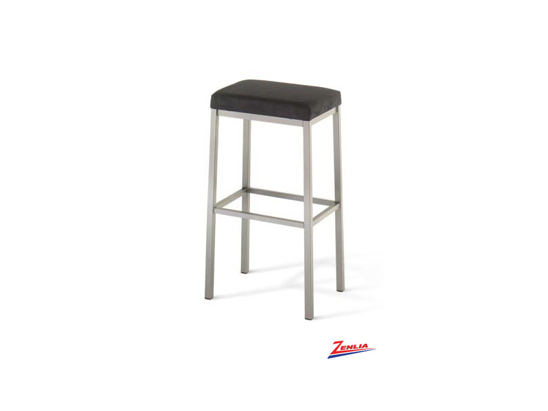 Style 40 038 Metal Fabric Non Swivel Stool