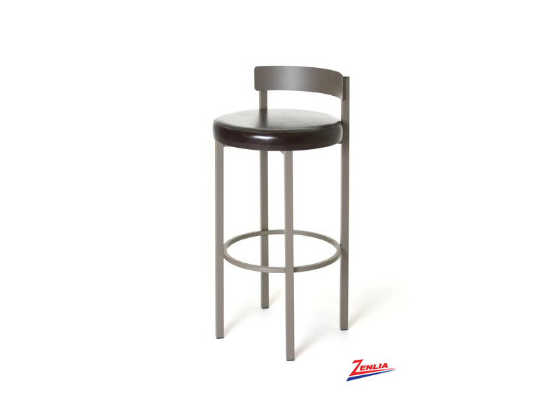 Style  40-468 Metal Fabric Non Swivel Stool