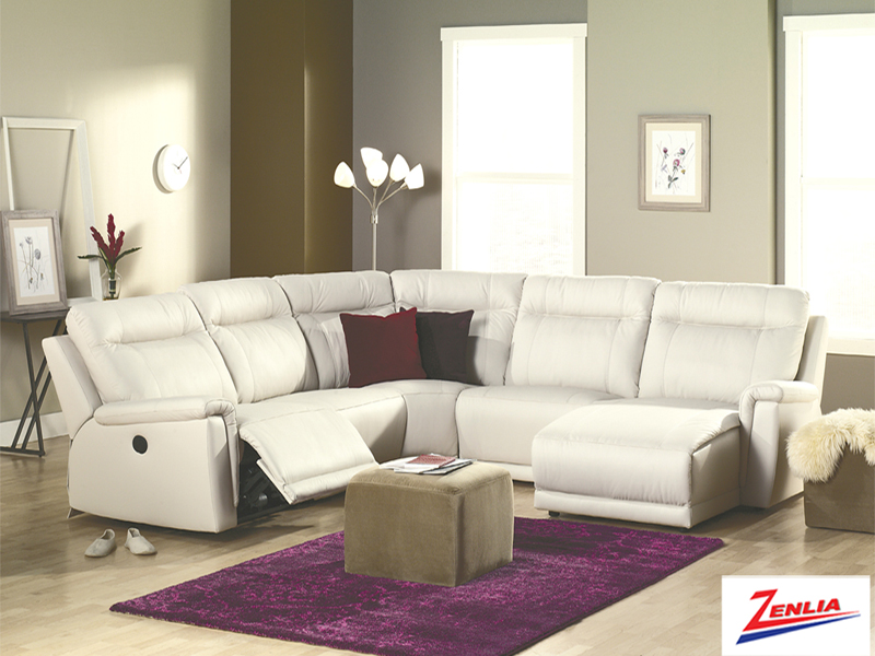 West Reclining Sectional Sofa