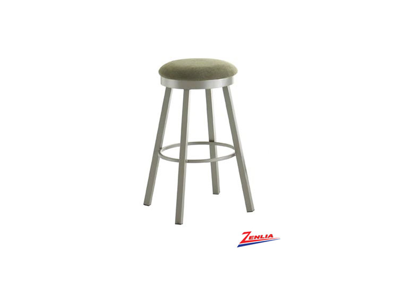 Style 42493 Metal Fabric Swivel Stool