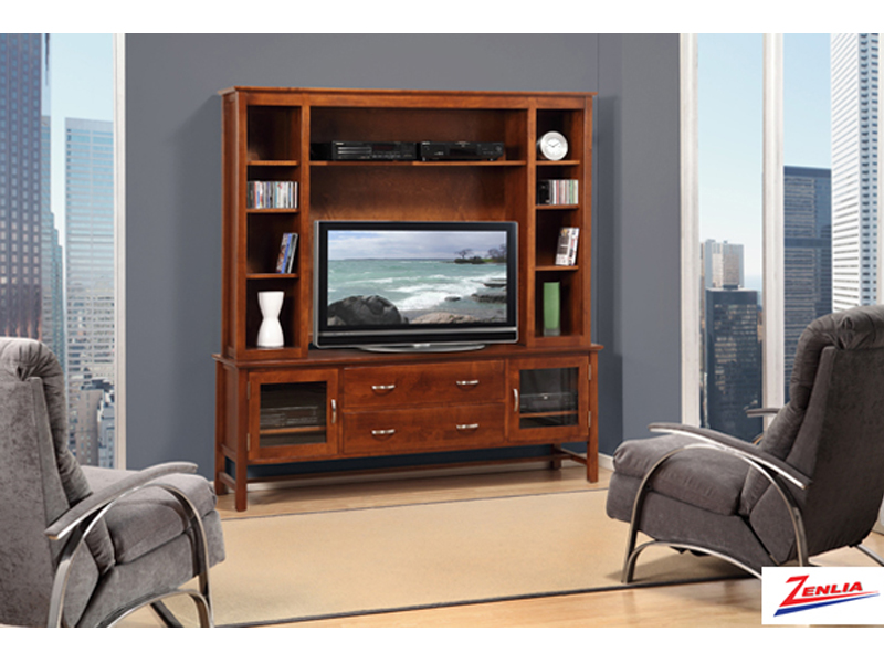 Brook 72 Inch Tv Cabinet With Hutch