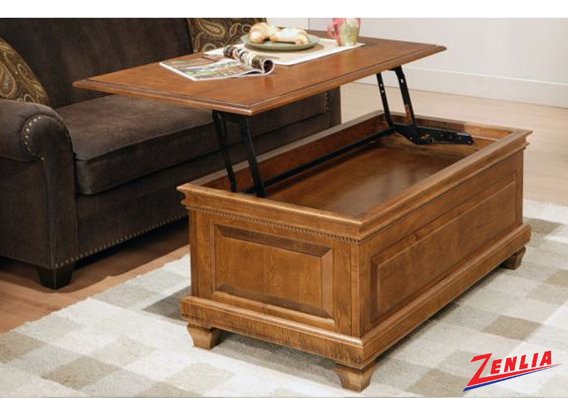 Florent 48 Lift Top Coffee Table Coffee Tables Occasional Tables Solid Wood Furniture