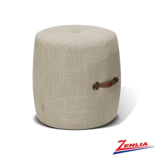 Alt Khaki Drum Stool