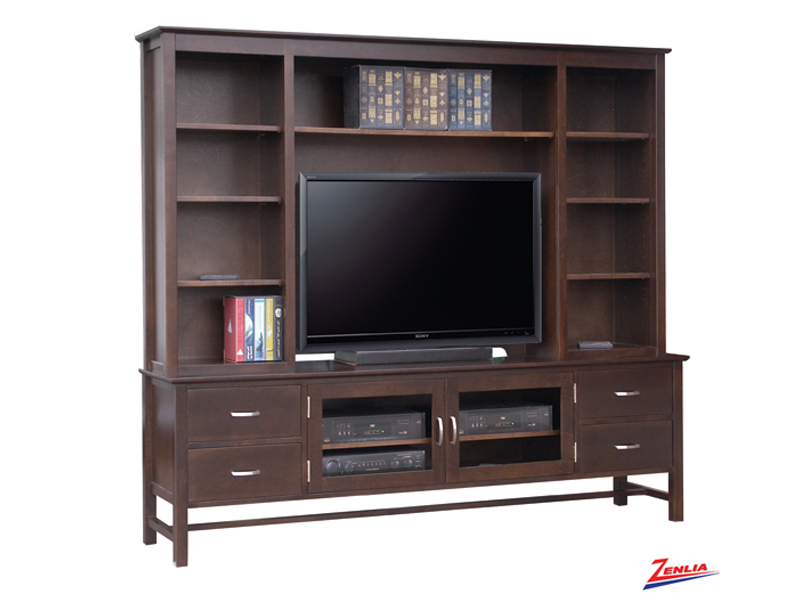 Brook 84 Inch Tv Cabinet With Hutch