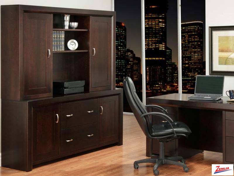 Cont Office Credenza With Hutch
