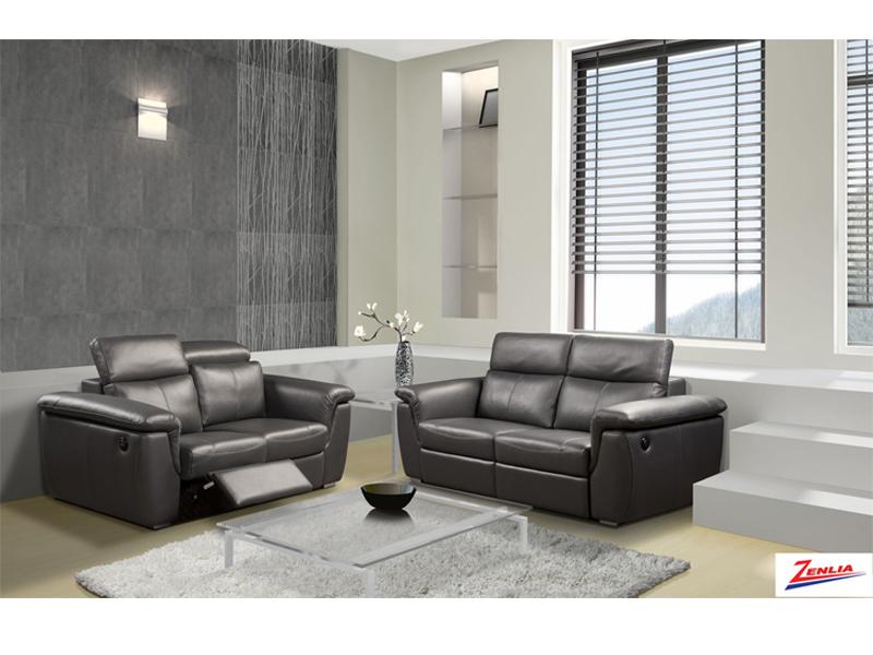 Capr Modern Reclining Sofa Set