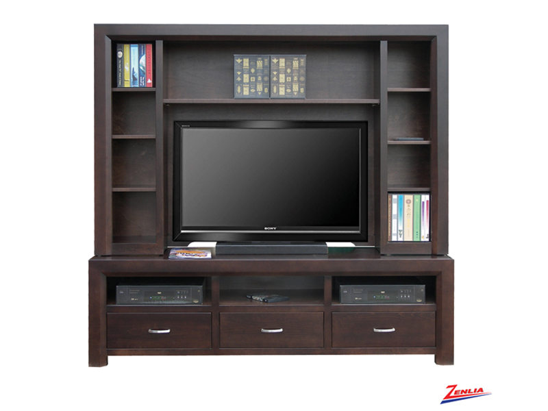 Cont 74 Inch Tv Cabinet With Hutch