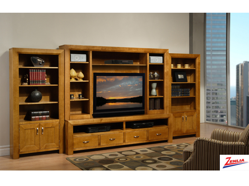 Cont Wall Unit With Book Cases