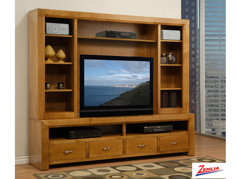 Cont 84 Inch Tv Cabinet With Hutch
