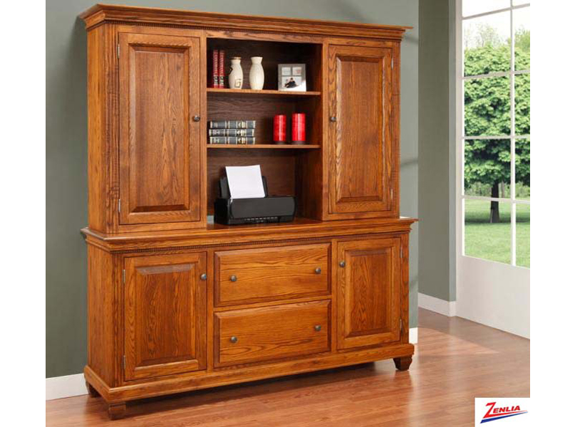 Florent Office Credenza With Hutch
