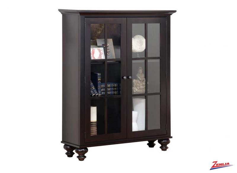 George Book Case With Glass Door