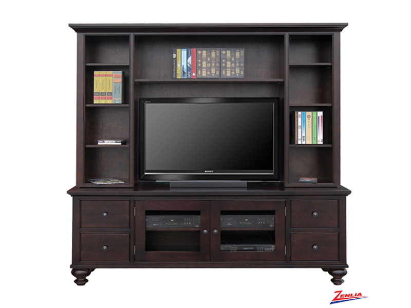 George 84h Wall Unit