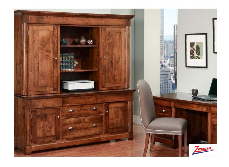 Hud Office Credenza With Hutch