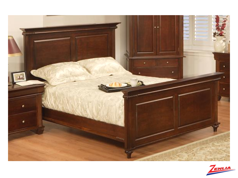 Can Class Bed With High & Low Footboard