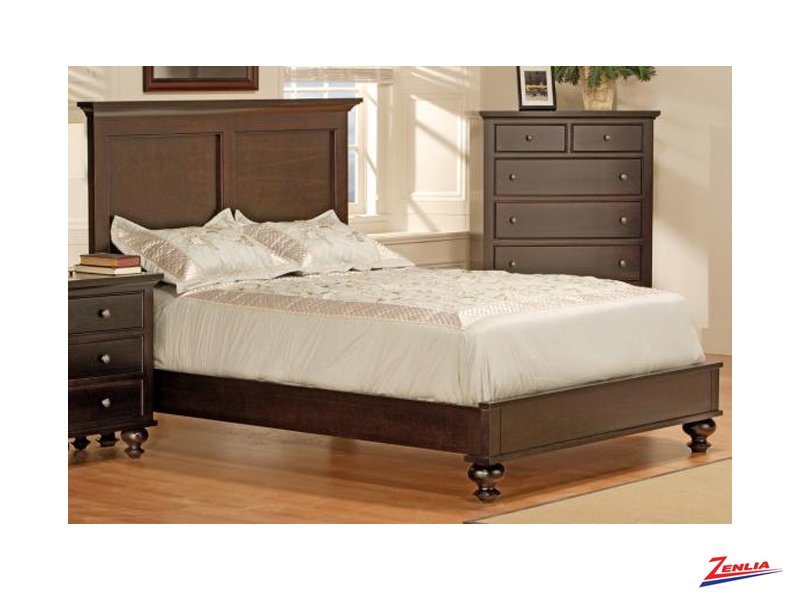 George Bed With Low Footboard Beds Bedroom Furniture Solid Wood Furniture Zenlia Home Store
