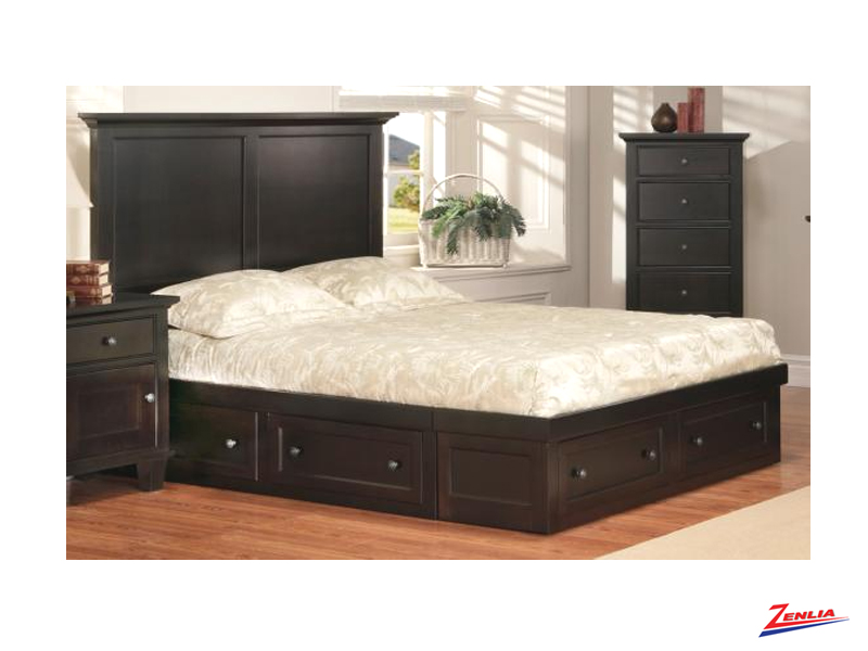 George Condo Bed Beds Bedroom Furniture Solid Wood Furniture Zenlia Home Store