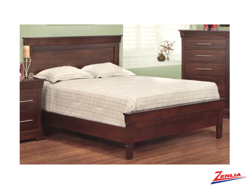 Kens Bed With Low Footboard