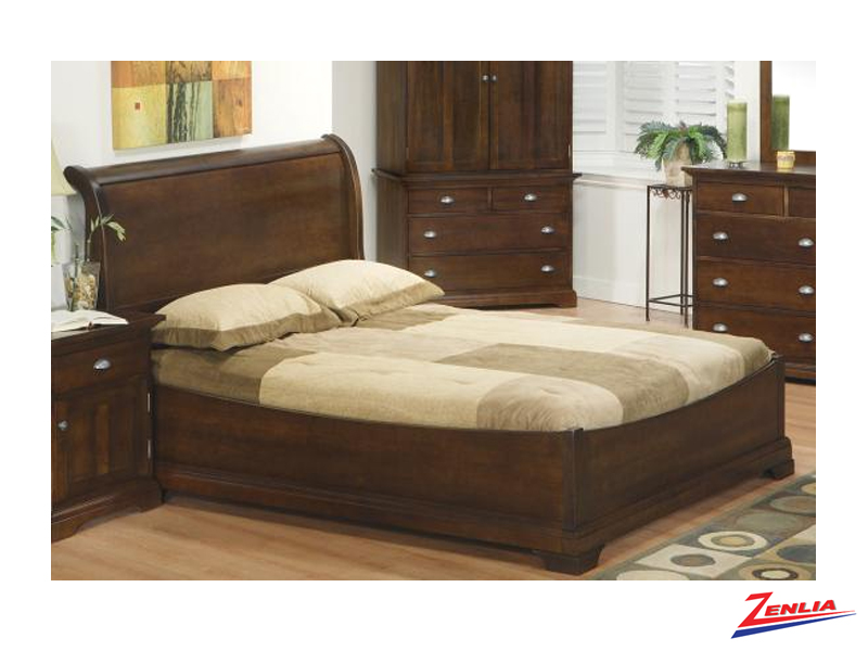 Mars Sleigh Bed