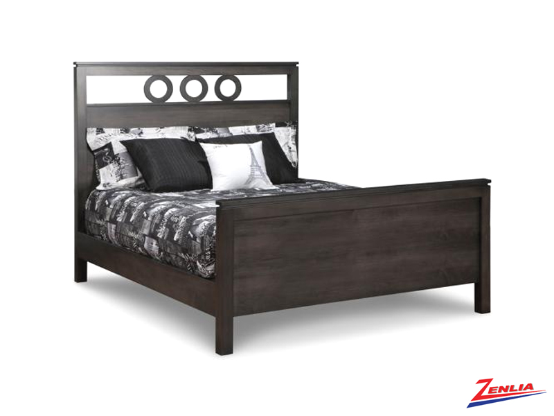 Orl Panel Bed With High Footboard
