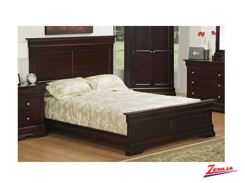 Phill Panel Bed With Low Footboard