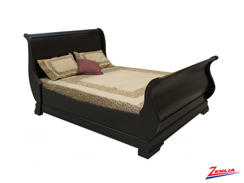 Phill Sleigh Bed With Boat Rails