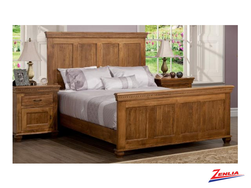Proven Bed With High Footboard