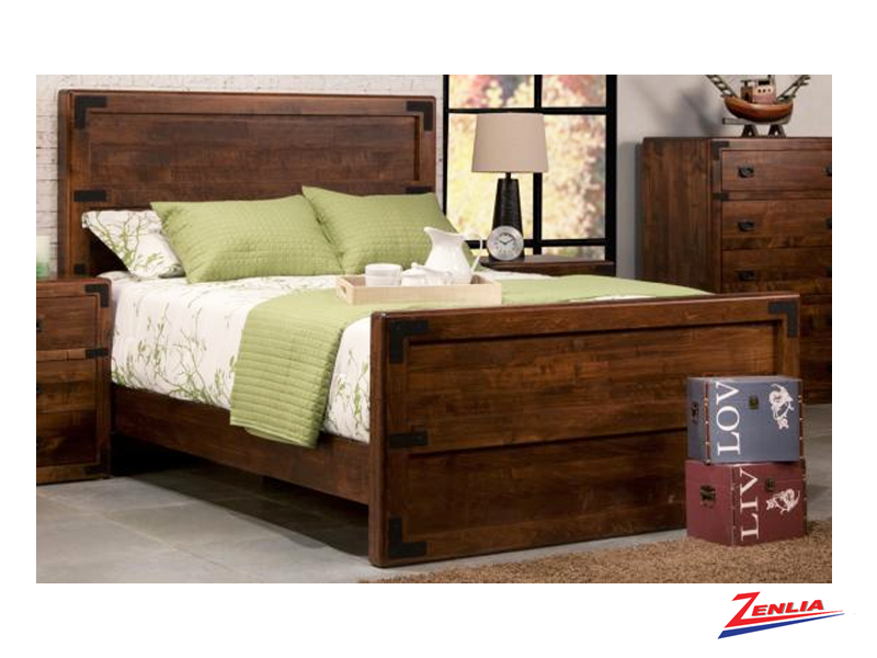 Sara Bed With High Footboard