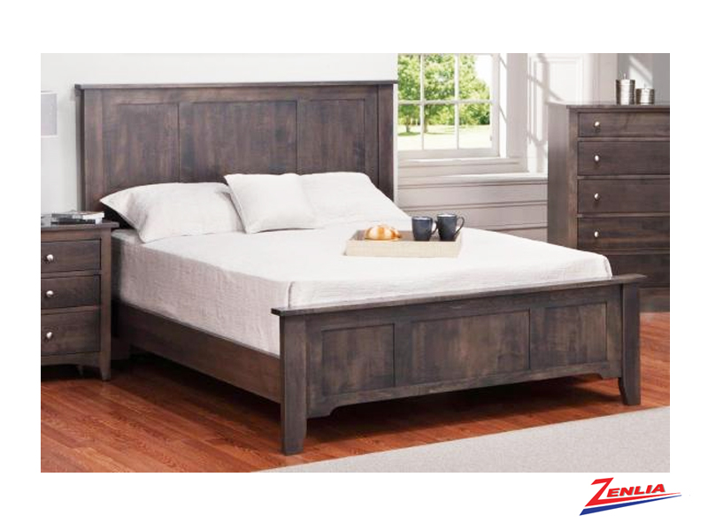 Shak Bed With Low Footboard