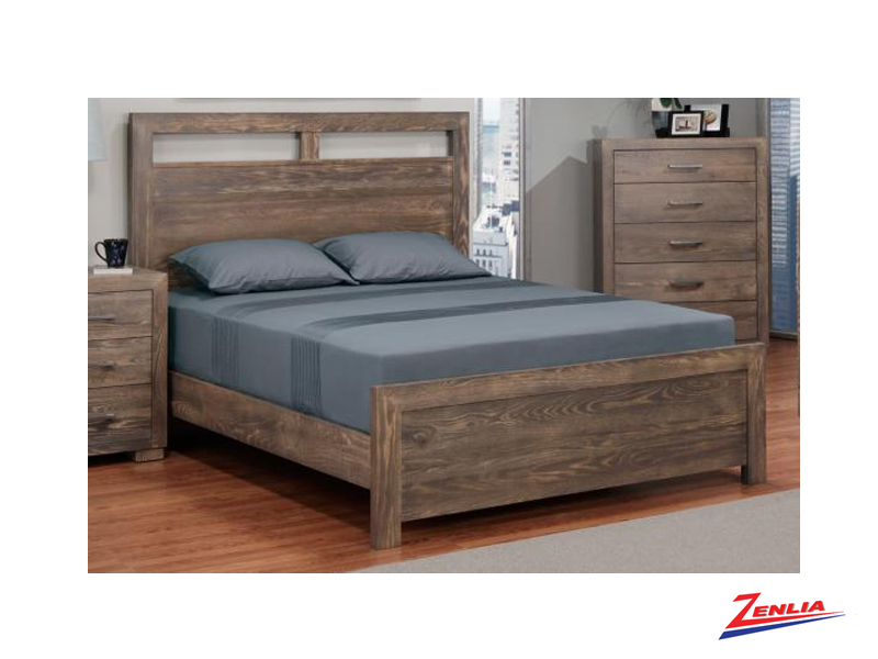 Steel Bed With Low Footboard