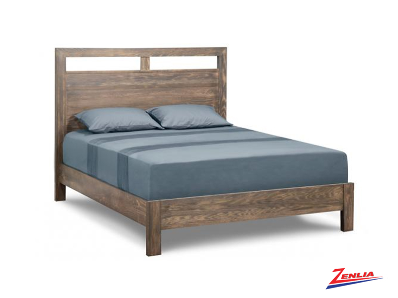 Steel Bed With Wrap Around Footboard