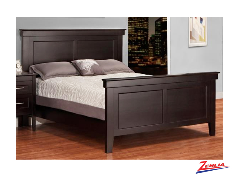 stock-bed-with-high-footboard-image