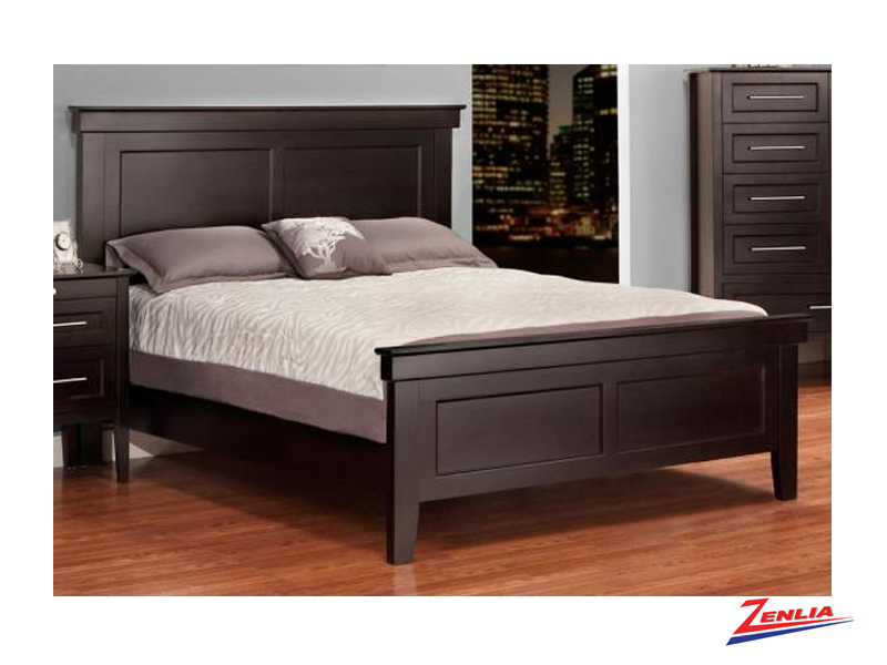 stock-bed-with-low-footboard-image