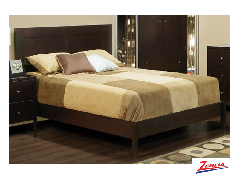 Tran Bed With Wrap Around Footboard