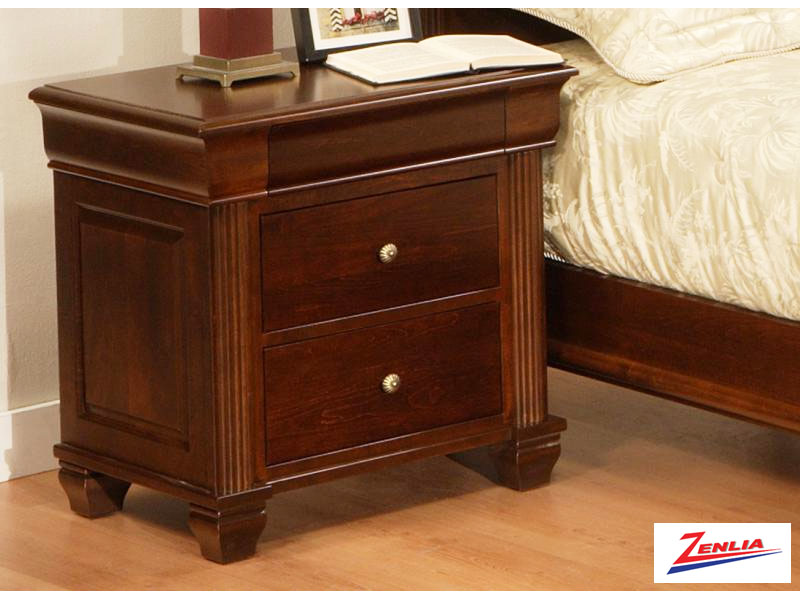 Can Classic Three Drawer Night Stand