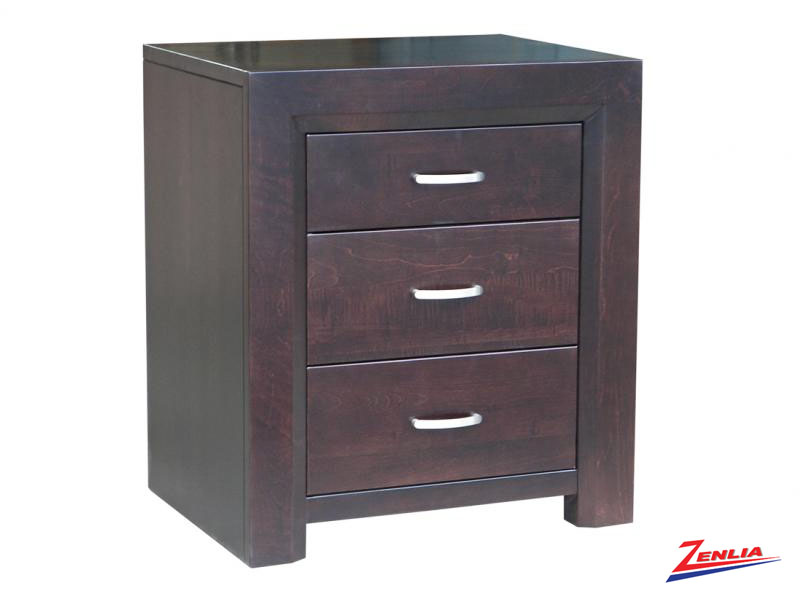 Cont 3 Drawer Night Stand