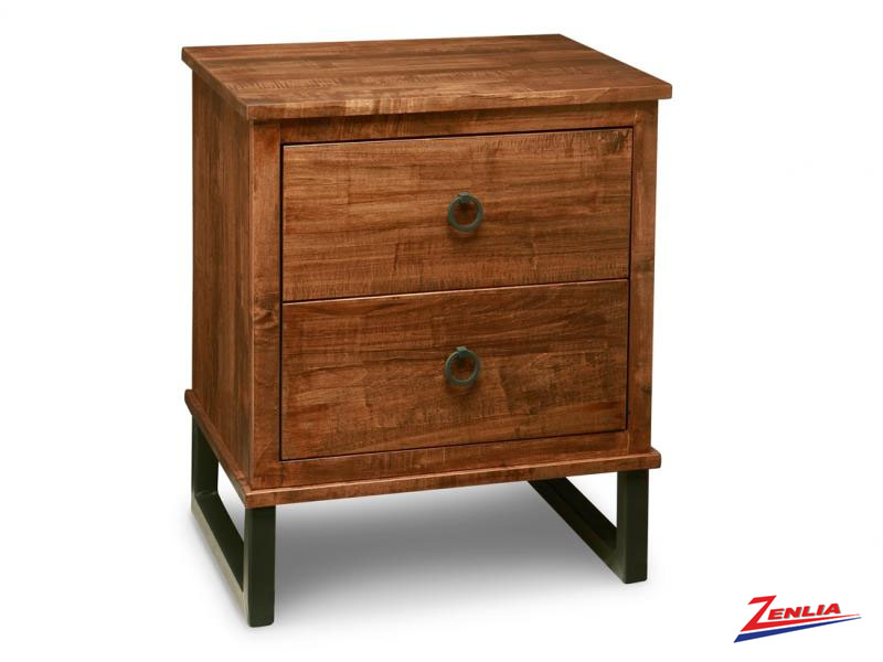 Cumber Two Drawer Night Stand