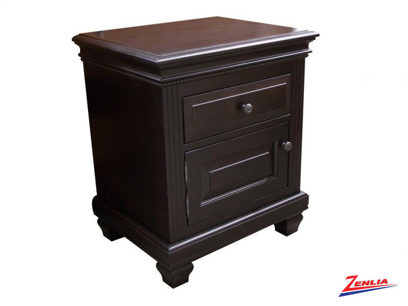 Florent One Door One Drawer Night Stand