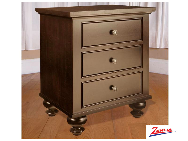 George Three Drawer Night Stand