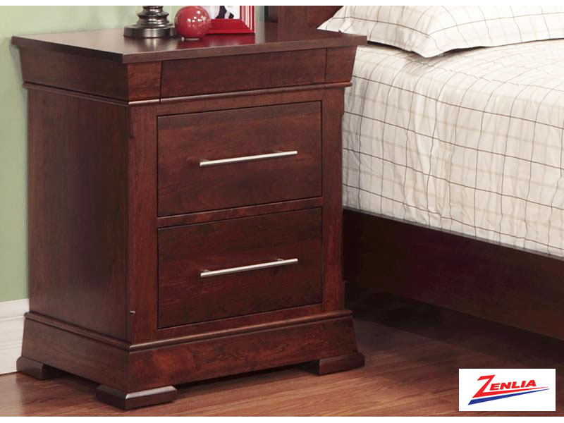 Kens 3 Drawer Night Stand