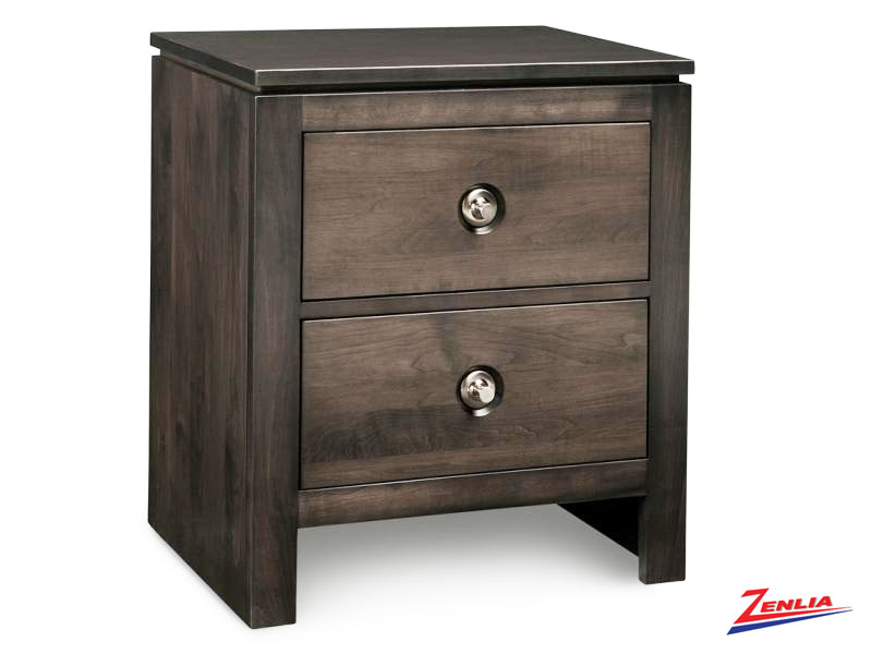Orl Two Drawer Night Stand