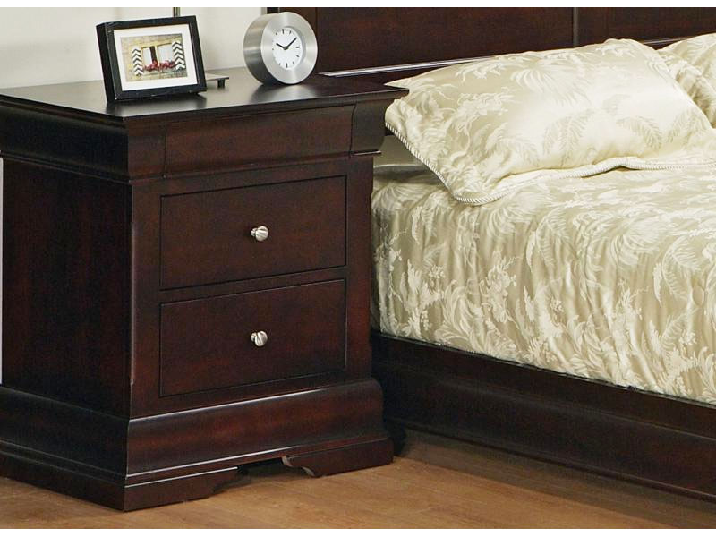 Phill Three Drawer Night Stand