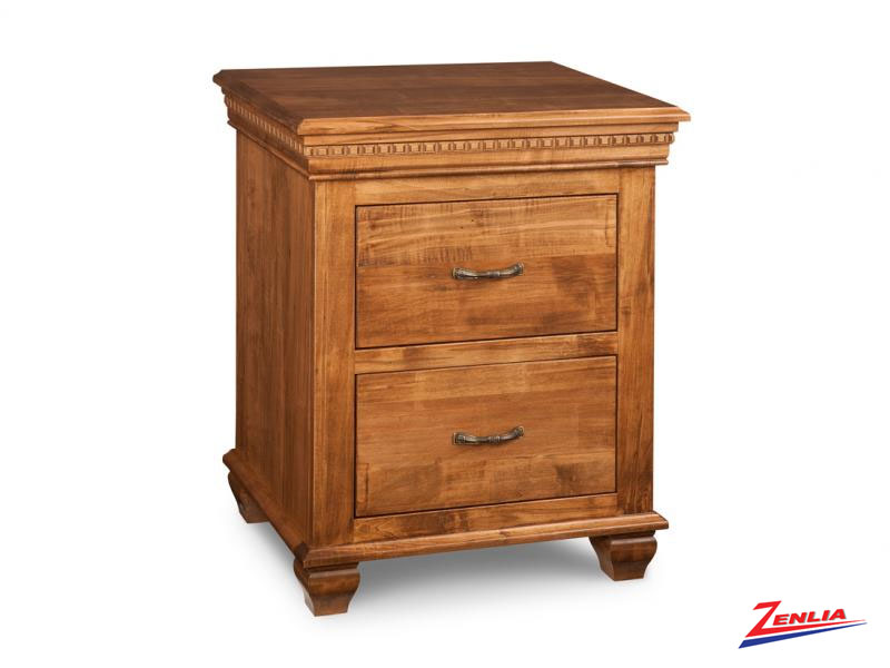 Proven Two Drawer Night Stand