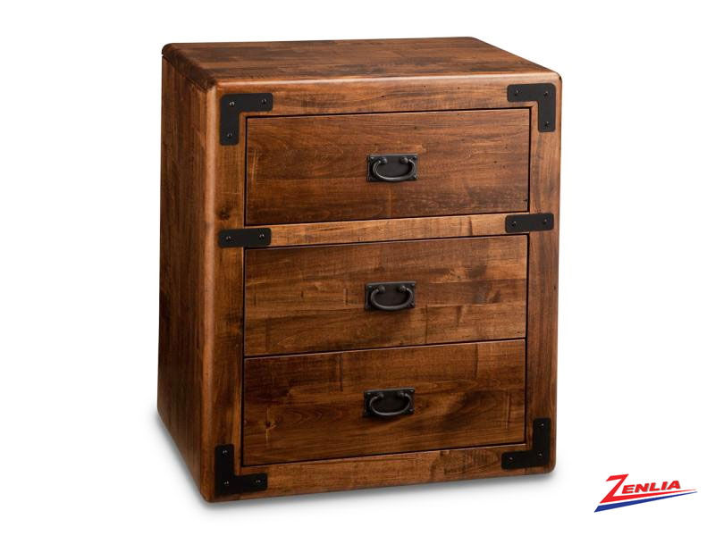 Sara Three Drawer Night Stand
