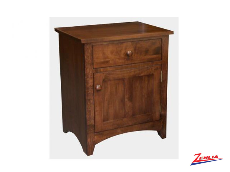 Shak One Drawer One Door Night Stand