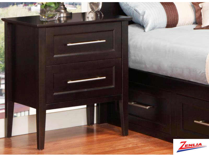 Stock Two Drawer Night Stand