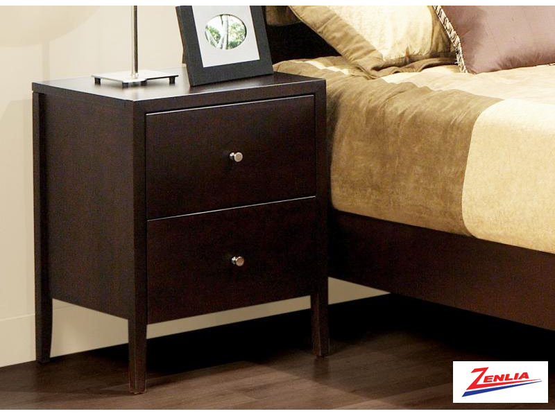 Tran Two Drawer Night Stand