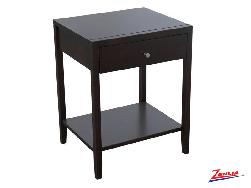 Tran One Drawer Open Night Stand