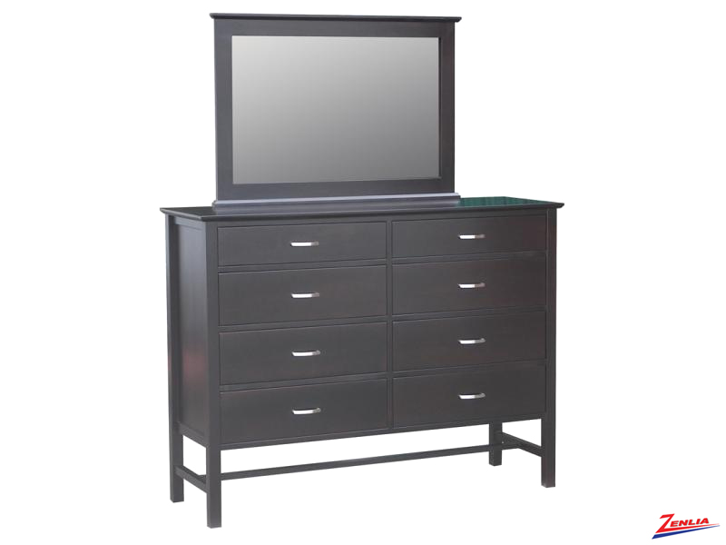 Brook 8 Drawer Dresser And Mirror